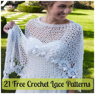 21 Free Crochet Lace Patterns