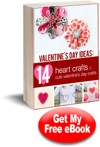Valentines Day Ideas: 14 Heart Crafts and Cute Valentines Day Crafts