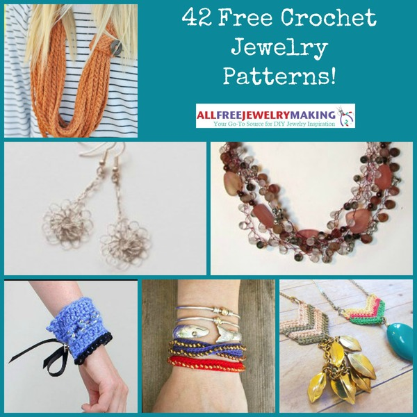 42 Free Crochet Jewelry Patterns