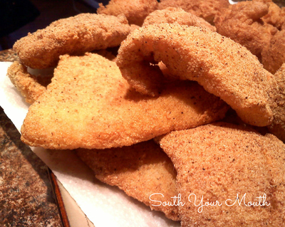 Simple southern fried fish for Easy fish fry recipe