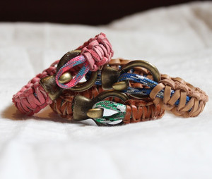 Marvelous Macrame Leather Bracelet