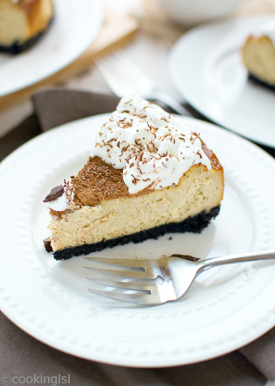 Dreamy Tiramasu Cheesecake