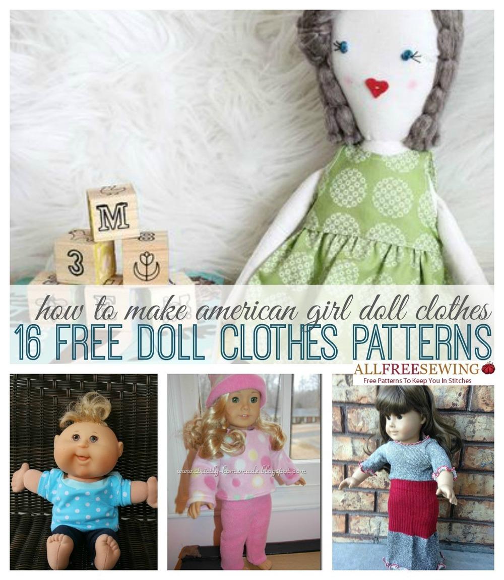 American Girl Doll Knitting Patterns Free