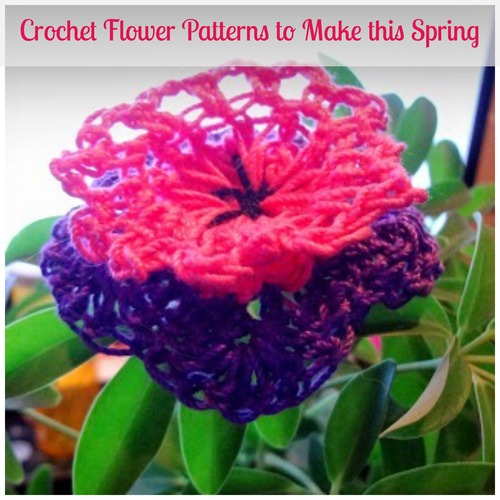 Make Crochet Flower Pattern : 68 Crochet Flower Patterns to Make this Spring ...