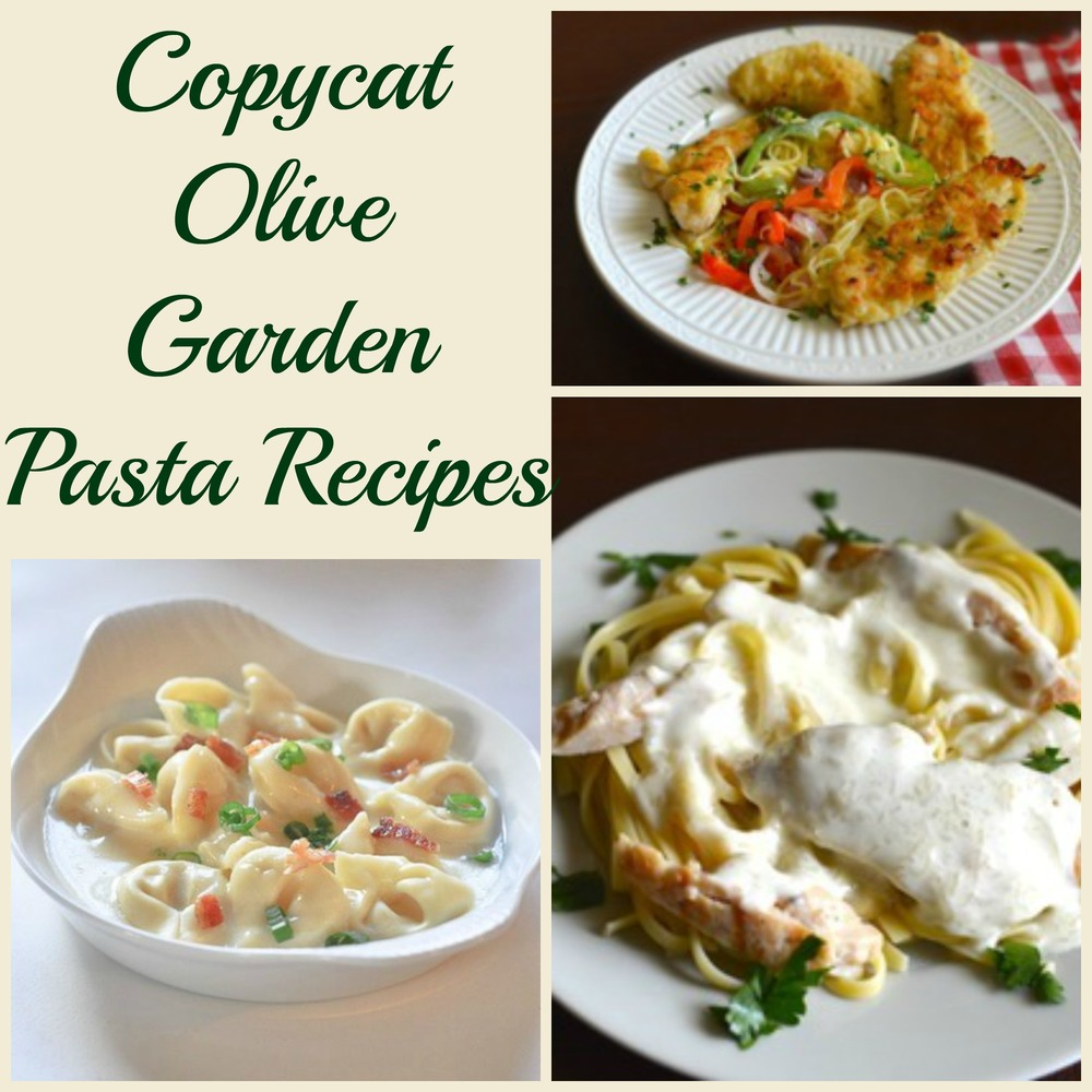 Olive Garden Recipes: 10 Copycat Olive Garden Pasta Recipes