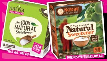Natvia Natural Sweetener Set Giveaway