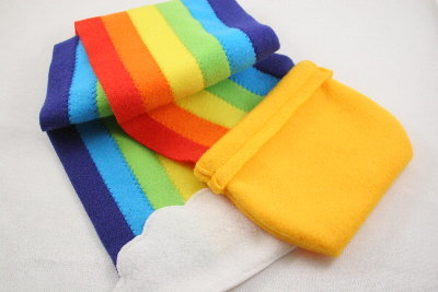 Pot O Gold Rainbow Scarf