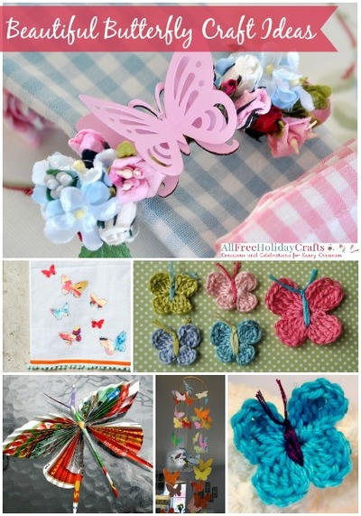 37 beautiful butterfly craft ideas