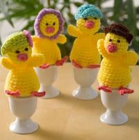 My Little Crochet Easter Chicks