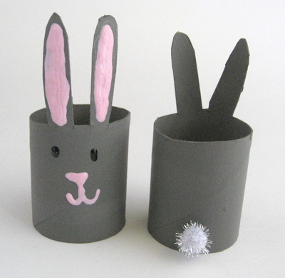 Making Napkin Rings From Toilet Paper Rolls