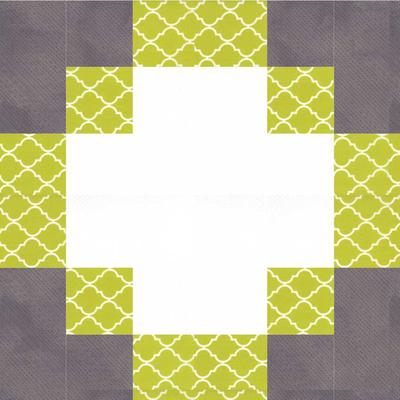 Modern Hand Quilting Patterns : Antique Modern Quilt Block Pattern FaveQuilts.com