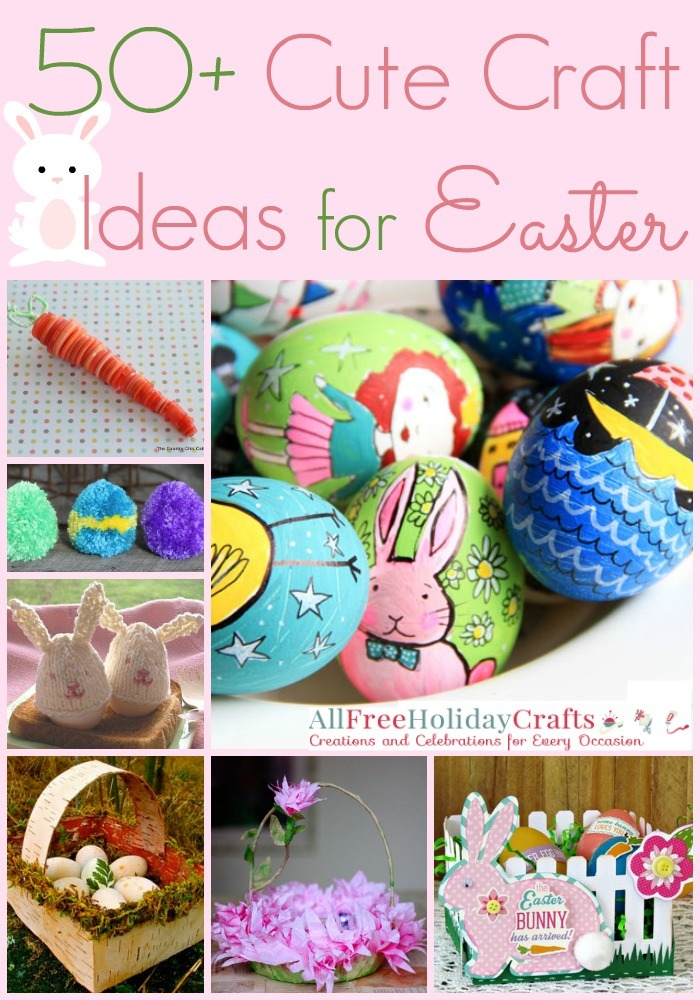 50 cute craft ideas for easter for Easter craft ideas to sell