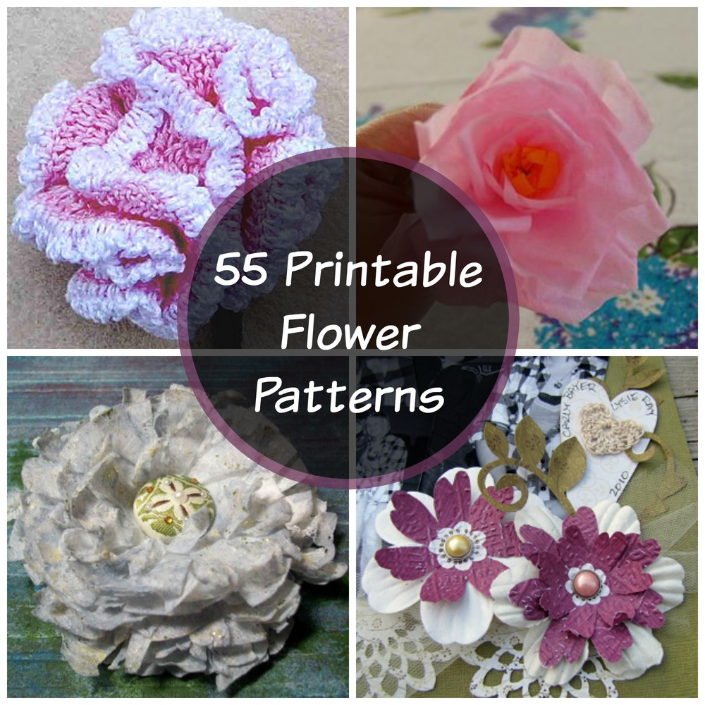 It's just a graphic of Gorgeous Printable Flowers Pattern