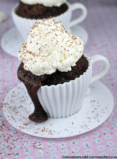 Hot Cocoa Cupcakes | FaveHealthyRecipes.com