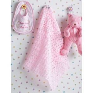 Easy Baby Girl's Blanket