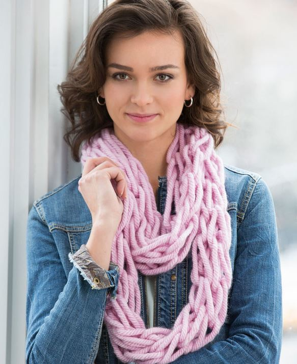 Free Irish Knitting Patterns : Two Hour Princess Scarf AllFreeKnitting.com