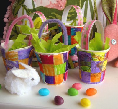 Teeny Tiny Easter Baskets