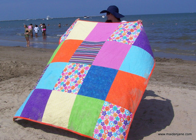 Big and Bold Beach Blanket