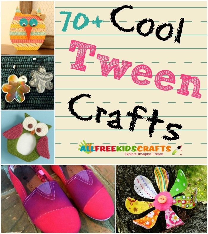 Cool Crafts for Tweens for School Girls