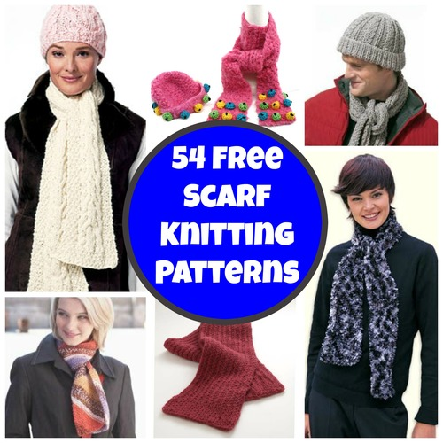 54 Free Scarf Knitting Patterns