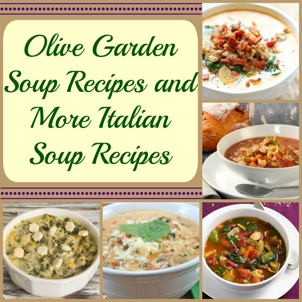 Olive Garden Recipes: 8 Olive Garden Soup Recipes