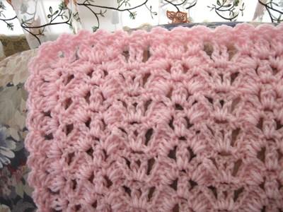 Butterfly Crochet Afghan Pattern Free : Butterfly Wings Free Crochet Afghan Pattern FaveCrafts.com