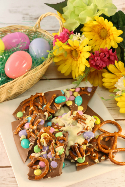 Leftover easter candy bark for Quick and easy easter treats recipes