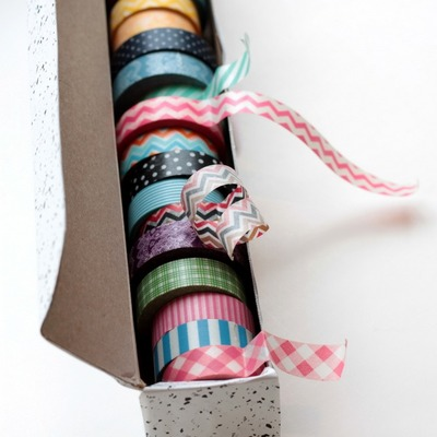 Genius Washi Tape Organizer