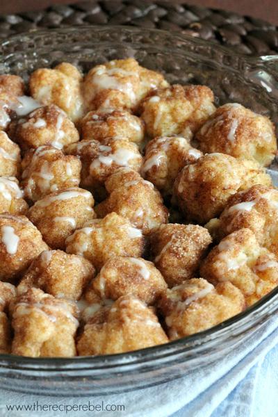 Cinnamon Roll Bites | TheBestDessertRecipes.com
