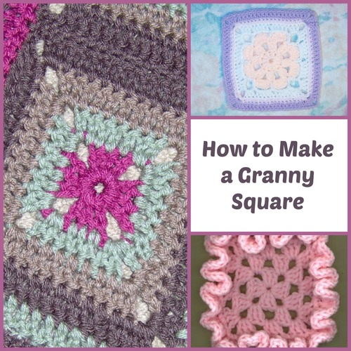 How to Make Granny Squares