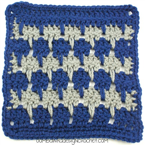 Larksfoot Crochet Baby Blanket Pattern : Crocodile Rock Crochet Baby Blanket ...
