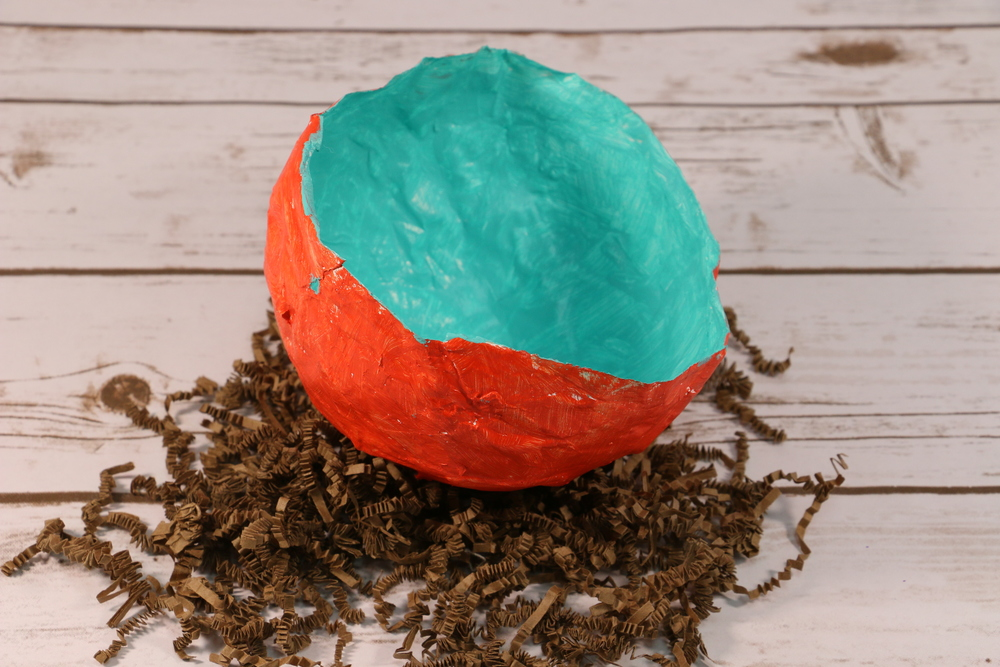 Paper mache bowl extralarge1000 id for Homemade papier mache