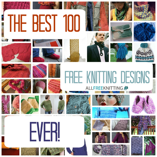 The Best 100 Free Knitting Designs Ever