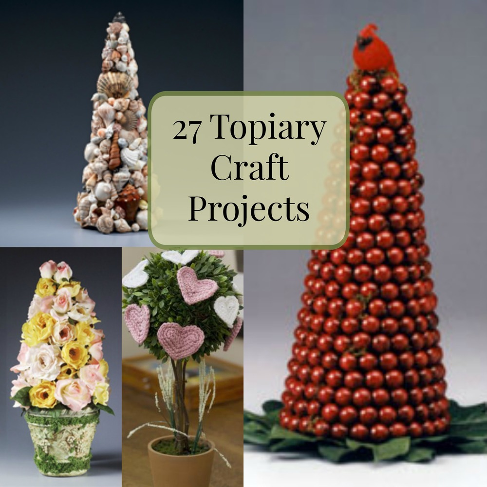 27 topiary craft projects