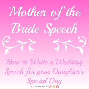 Mother of the Bride Speech 2