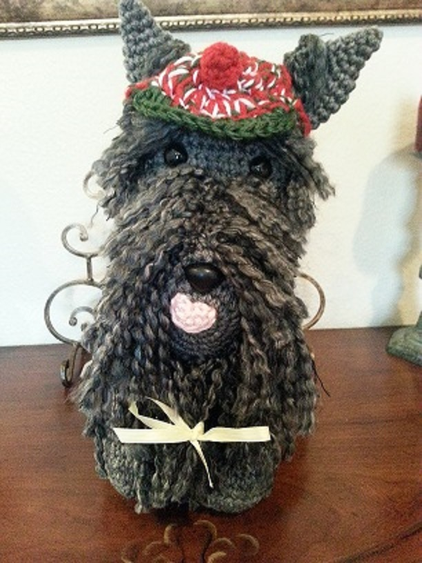 Scottish Terrier Dog Crochet Amigurumi Pattern ...