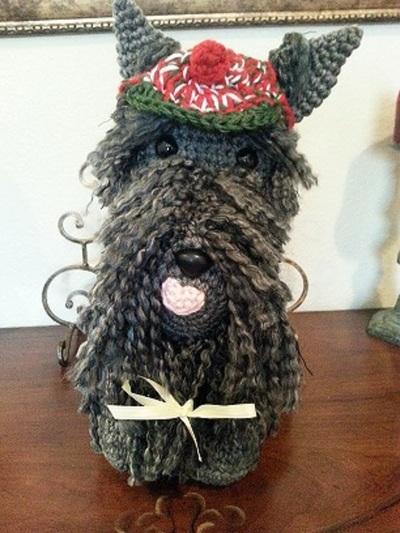 Amigurumi Scottie Dog Pattern : Scottish Terrier Dog Crochet Amigurumi Pattern ...