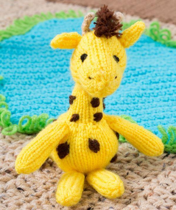 Amigurumi Hello Kitty Abeja : Cuddly Amigurumi Giraffe AllFreeKnitting.com