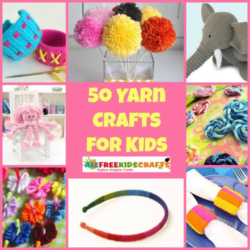 50 yarn crafts for kids table of contents crochet patterns for kids Ep4iBTBE