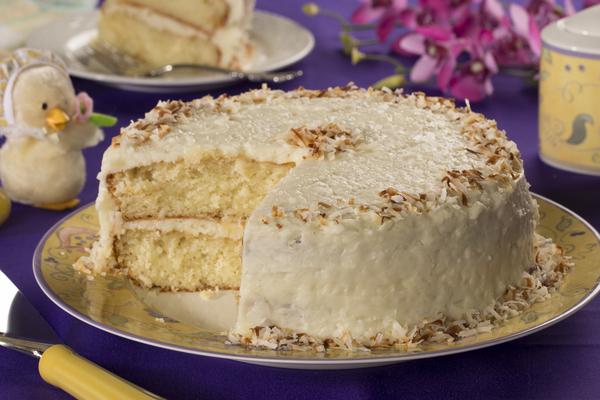 Coconut Layer Cake | mrfood.com
