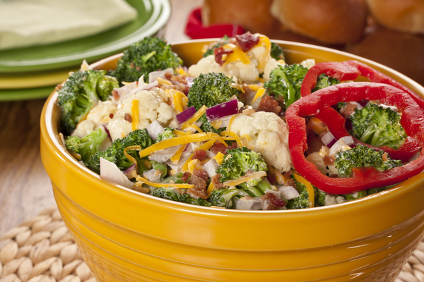 Best Broccoli Salad   mrfood.com