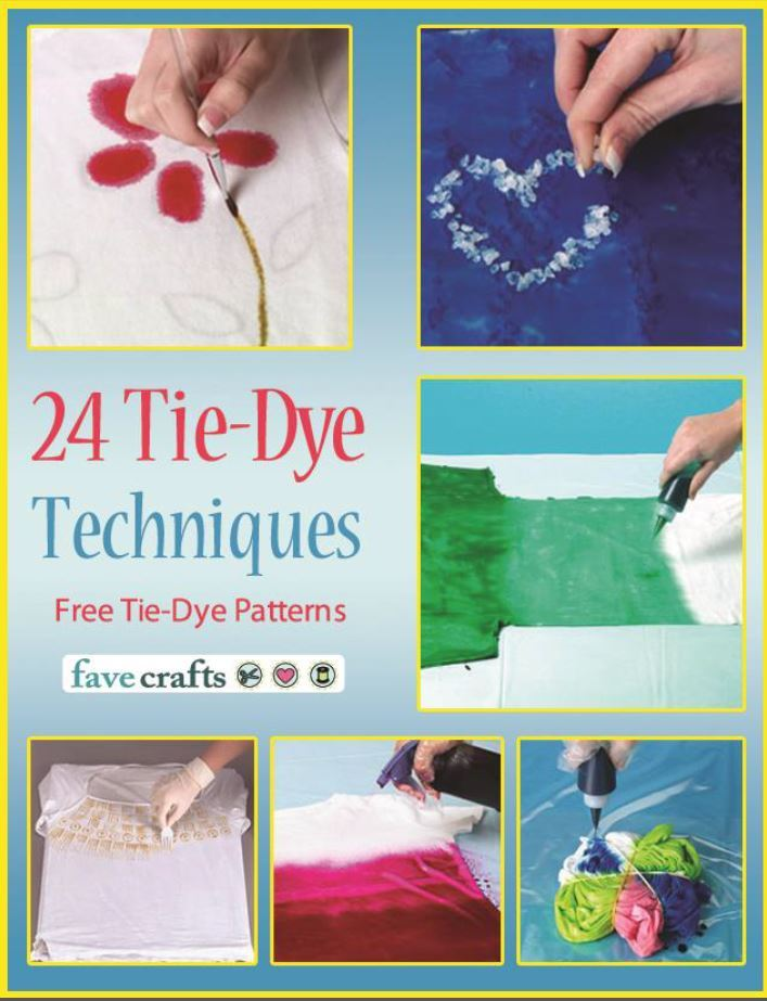 Tie Dye Folding Techniques Instructions Quot 24 Tie Dye Techniques Free