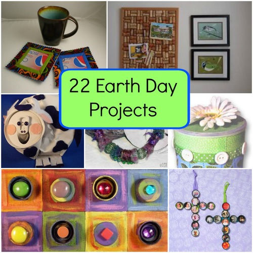 22 Earth Day Projects