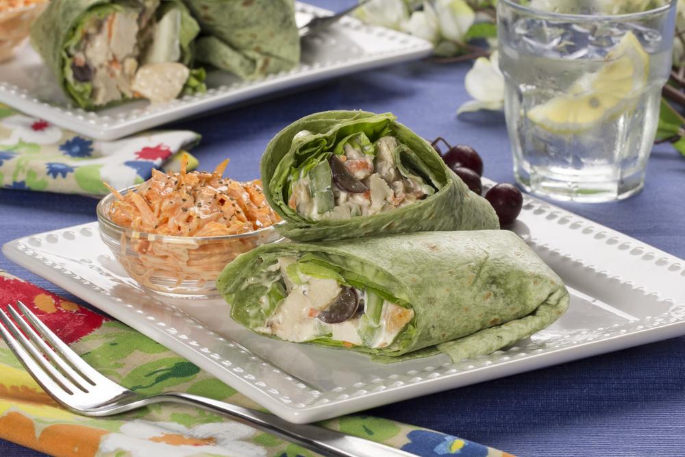 Company Fancy Chicken Wraps | MrFood.com