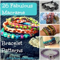 26 Fabulous Macrame Bracelet Patterns