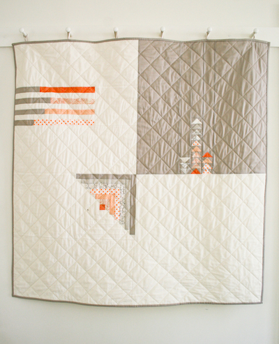 Quilter's Four SquarE Pattern