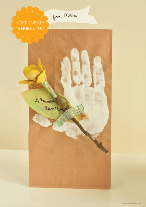 Design your own homemade mother s day gift bag