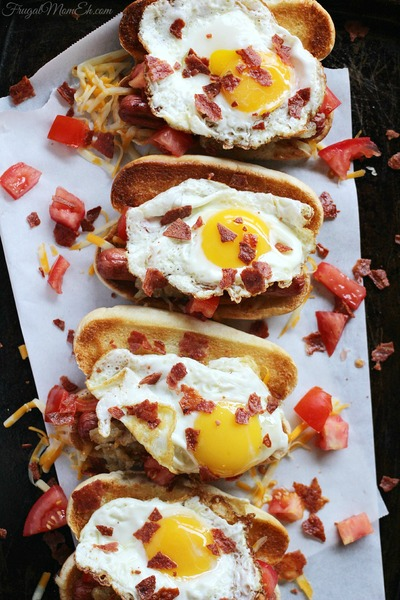 The Ultimate Breakfast Hot Dog | RecipeLion.com