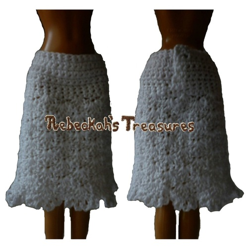 Crochet Skirt Pattern for Dolls