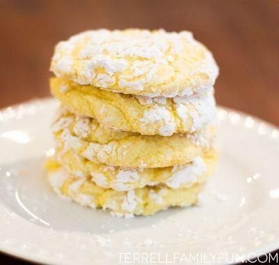 Easy Lemon Cool Whip Cookies | TheBestDessertRecipes.com